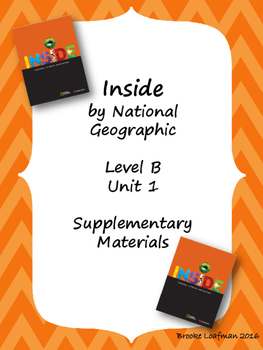 Inside Level B Unit 1 Supplementary Materials