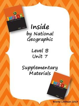 Inside Level B Unit 7 Supplementary Materials