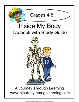 Inside My Body Lapbook with Study Guide