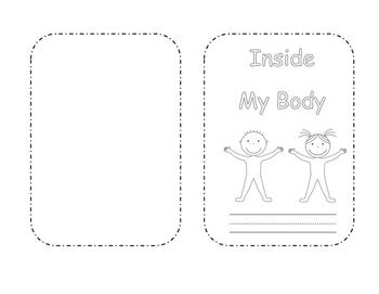 Inside My Body Mini Book