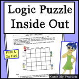 Logic Puzzle From Inside Out Movie For Gifted and Talented Learners