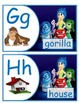 Inside Out Alphabet English