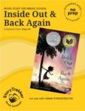 Inside Out & Back Again - A No-Prep Novel Study (Distance