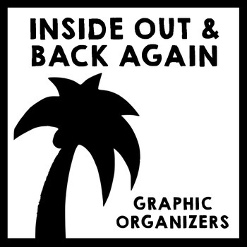 Inside Out and Back Again - Graphic Organizer Pack