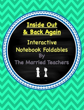 Inside Out & Back Again Interactive Literature and Grammar Notebook Foldables