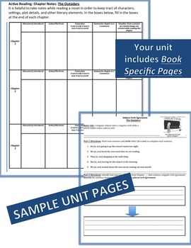 Inside Out & Back Again Literature, Grammar, & Interactive Foldables Unit