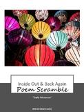 Inside Out & Back Again Poem Scramble - Early Monsoon