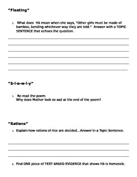 Inside Out & Back Again Study Guide for Part II