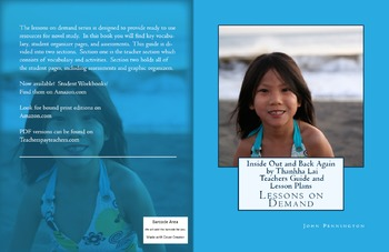Inside Out & Back Again by Thanhha Lai Teachers guide and