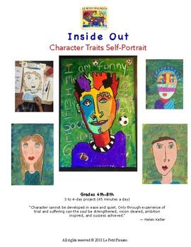 Inside Out C h a r a c t e r T r a i t s S e l f - P o r t r a i t