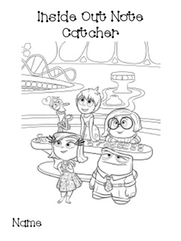 Inside Out - Character Feelings study
