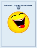 Inside Out: Driven By Emotions Joy Part 1 Vocabulary Unit