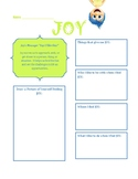Inside Out Emotion Worksheets