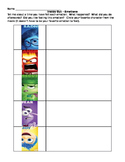 Inside Out Emotions Worksheet