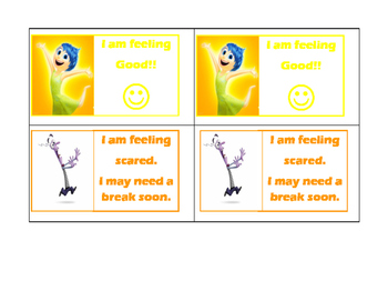 Inside Out Feelings