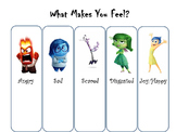 Inside Out Feelings List