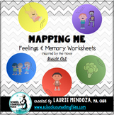Mapping Me:Feelings & Memories Worksheets inspired by Inside Out