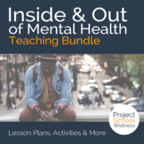 Mega Bundle: Discussion Questions + 10 Worksheets *Inside & Out of Mental Health