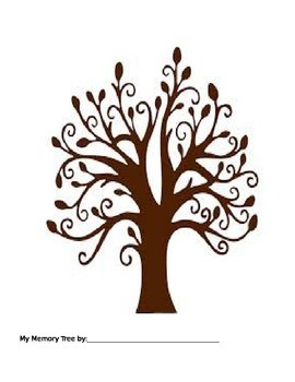 Inside Out Memory Tree Activity for Counselors/Social Workers (grief/feelings)