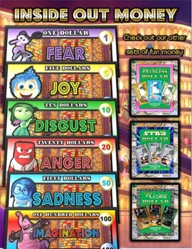 Inside Out Money Set