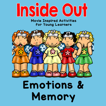 Inside Out Movie Activities - Emotions & Memories