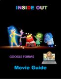 Inside Out Movie Activity Guide Google Forms Distance Learning