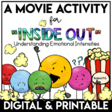 Social Emotional Learning Activities Inside Out Movie Activities
