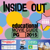 Inside Out Movie Guide | Questions | Worksheet (PG - 2015)