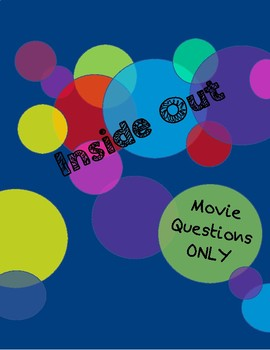 Inside Out Movie Questions ONLY