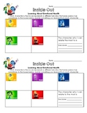 Inside Out Movie Reflection Sheet