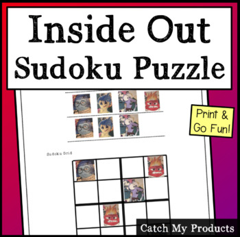 Inside Out Sudoku Puzzle