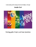 Inside Out Movie Viewing Packet