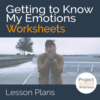 Inside Out Worksheet: Getting to Know My Emotions (Inside