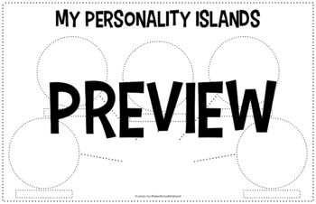 Inside & Out of Mental Health: Personality Islands Student Project