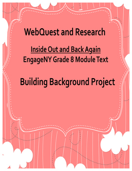 Inside Out and Back Again Background WebQuest Research