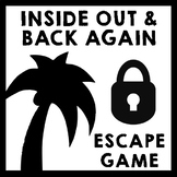 Inside Out and Back Again - Escape Room Game {Low Prep!}