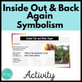 Inside Out and Back Again Symbolism Activity
