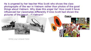Inside Out and Back Again - War on Peace PPT/Questions
