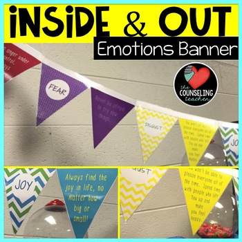 Inside And Out Of Emotions Banner By The Counseling Teacher Brandy