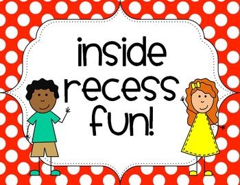 Inside Recess Fun: Brain Breaks & Exercises