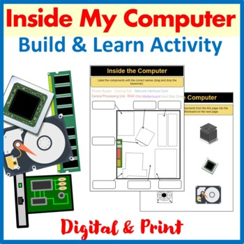 Inside The Computer: A Build & Learn Activity (Interactive & Paper Version)