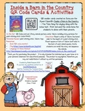 Inside a Barn in the Country QR Code & Activities