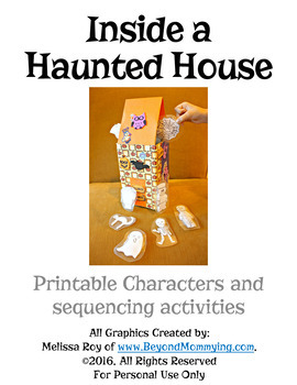 Inside a House that is Haunted Sequencing Activities