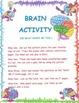 """Inside my head "" Brain Art and Activities"