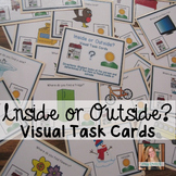 Inside or Outside? Visual Task Cards for Special Education
