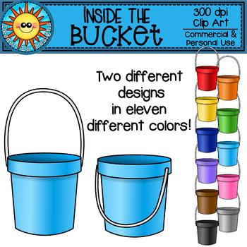 Inside the Bucket Clip Art