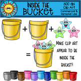 Inside the Bucket Clip Art