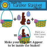 Inside the Easter Basket Clip Art FREEBIE
