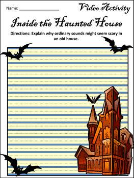Halloween Activities: Magic School Bus Inside the Haunted House Activity Packet