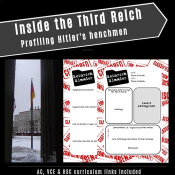Inside the Third Reich: Profiling Hitler's henchmen (AC,VCE & HSC links)